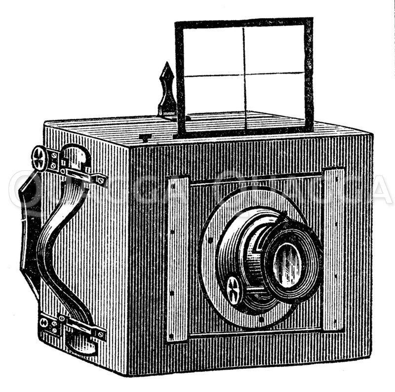 Anschütz' Momentkamera Zeichnung/Illustration