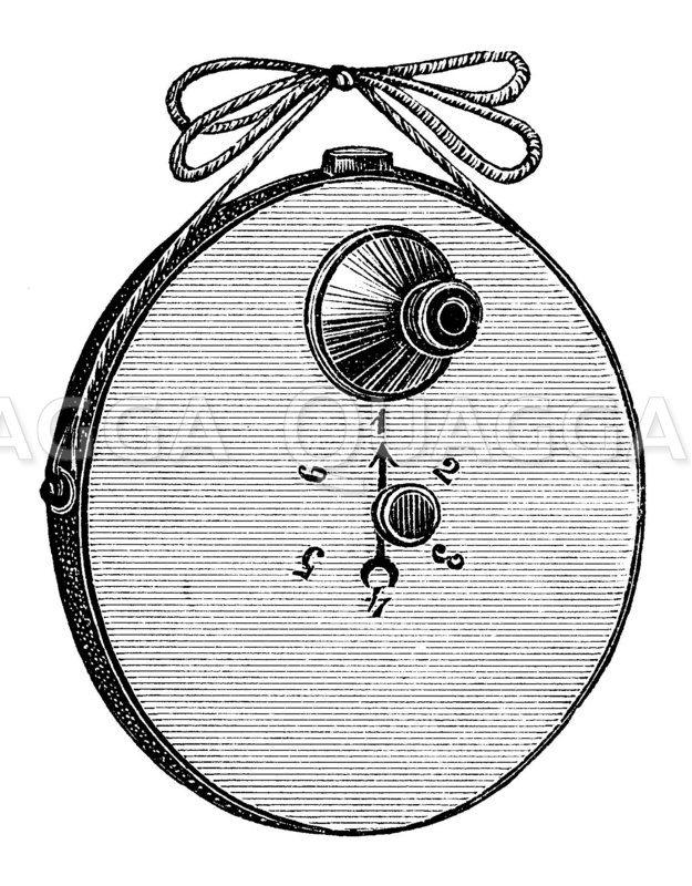 Stirns Geheimkamera Zeichnung/Illustration
