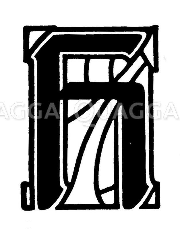 Buchstabe H Zeichnung/Illustration