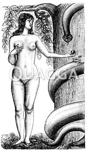 Eva mit der Schlange