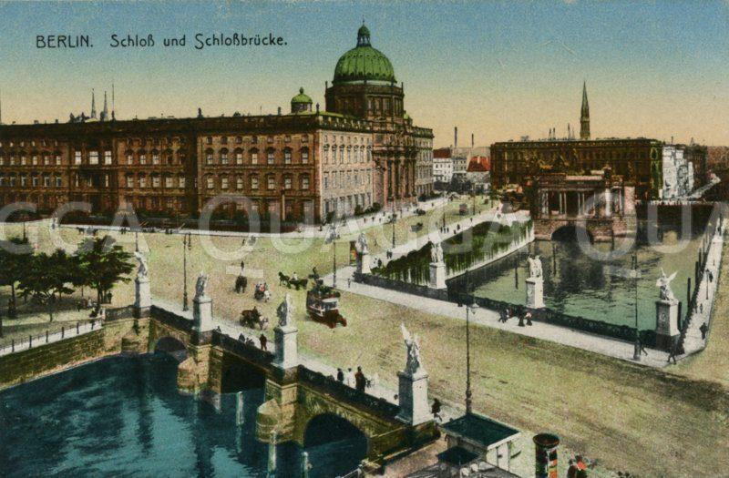 Berlin: Schloss und Schlossbrücke