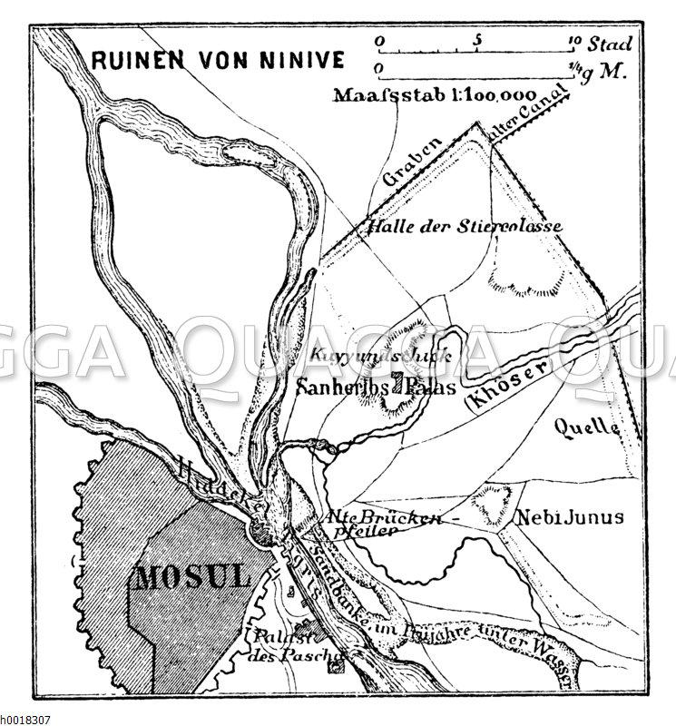 Trümmerfeld von Ninive