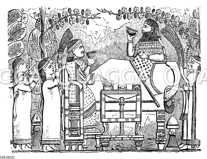 Aus Sanheribs Palast zu Kujundschik
