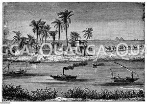 Fellachendorf am Nil