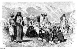 Afghanische Bergbewohner
