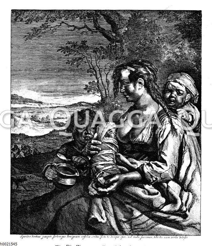 Die Zigeunermutter