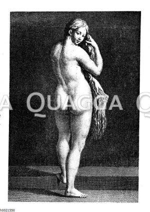 Venus bei der Toilette
