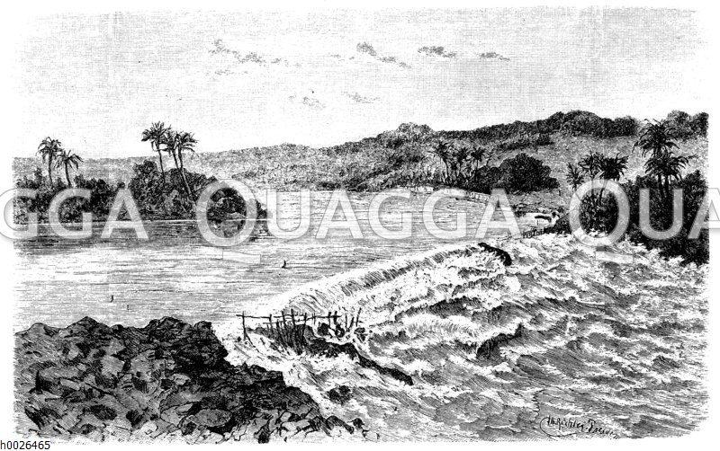 Siebente Stromschnelle der Stanleyfälle (Kongo)