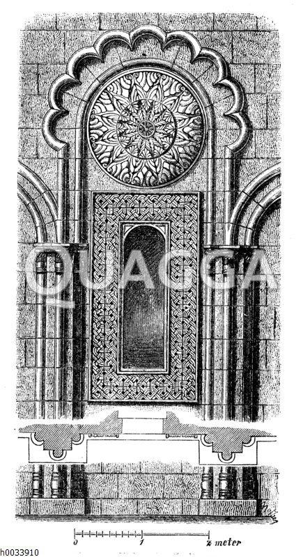 Kirche zu Samthavis. Detail