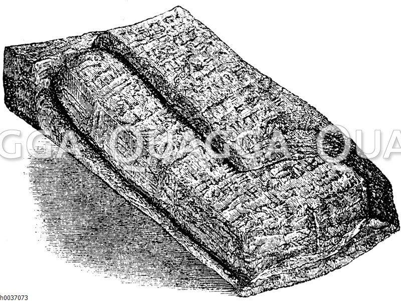 Babylonische Kontrakttafel mit Dublikat auf der Umhüllung aus Tell Sifr