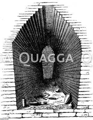 Altbabylonische Backsteingruft zu Mugheir (dem alten Ur)