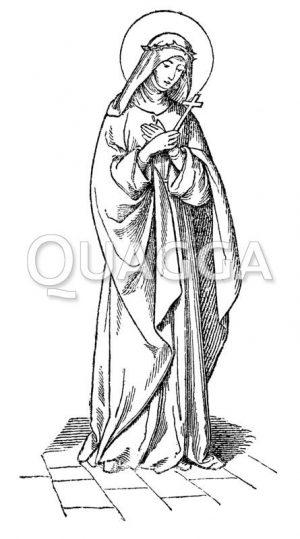 Hl. Katharina von Siena