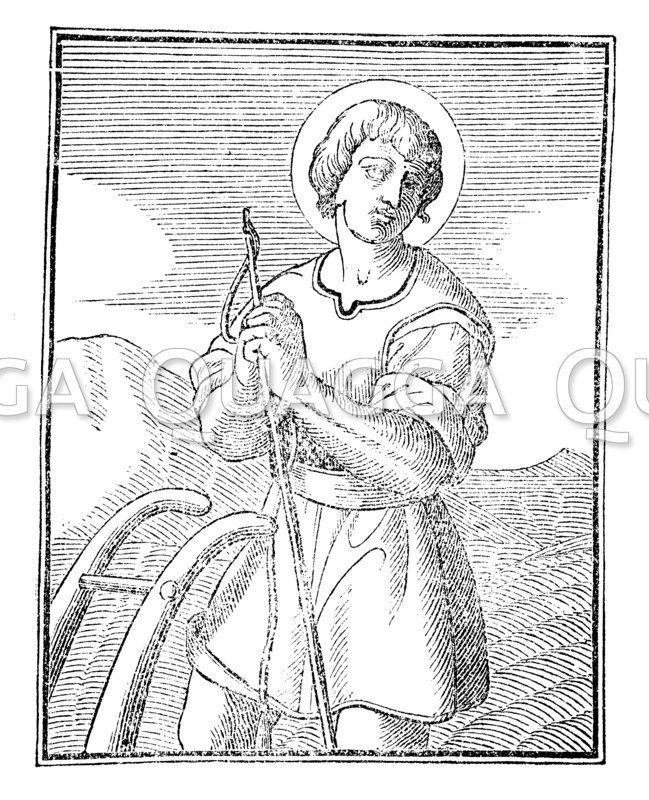 Hl. Bauersmann Isidor