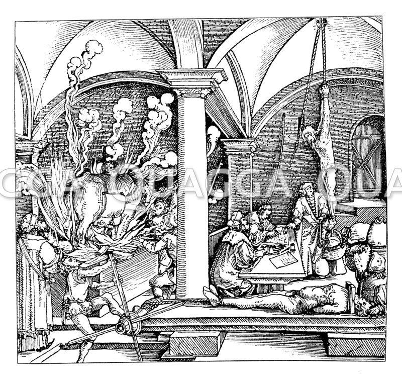 Eine Folterkammer im 16. Jahrhundert