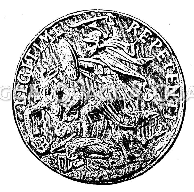 Medaille auf das  Jahr 1620