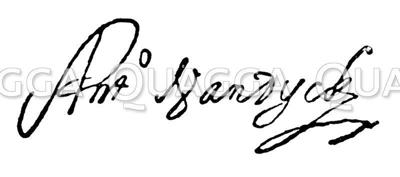 Autograph: Anton von Dyck