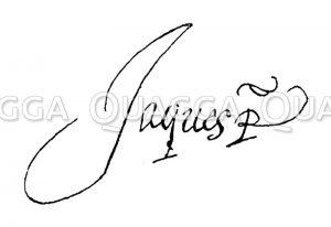 Autograph: Jakob I.
