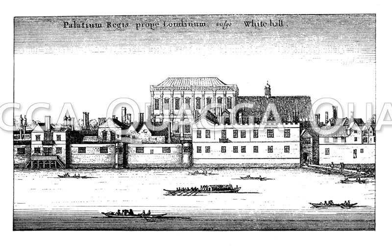 Palast Whitehall zu London