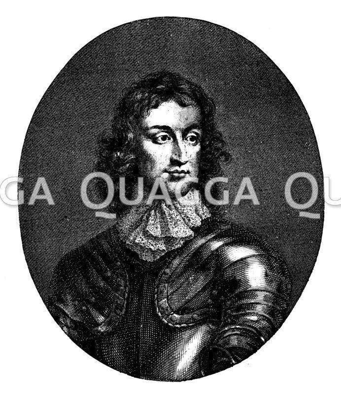 General John Lambert. Nach einem zeitgenössischen Gemälde von Walter