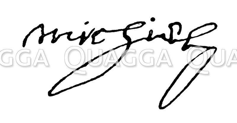 Autograph: Cornelius de Witt