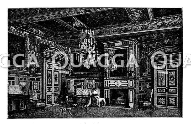 Ovaler Saal im Schloss von Fontainebleau