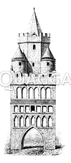 Torturm zu Königsberg in der Neumark