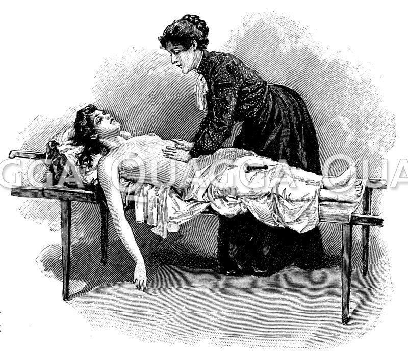 Belebungsversuche bei einer Verunglückten (Herzmassage)