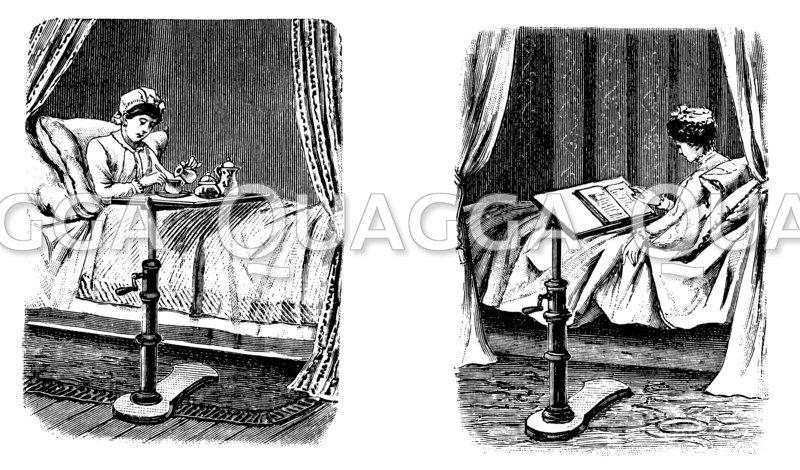tisch f r das krankenbett. Black Bedroom Furniture Sets. Home Design Ideas