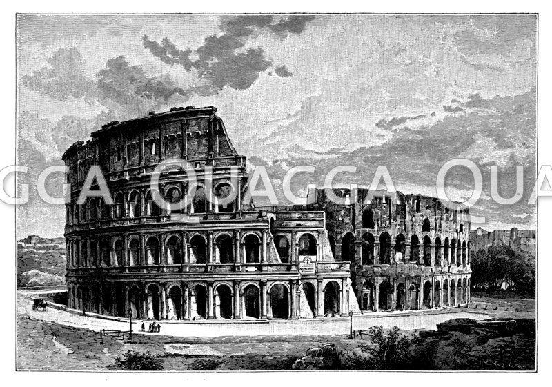 Kolosseum (Rom, Italien, 1.Jh.)