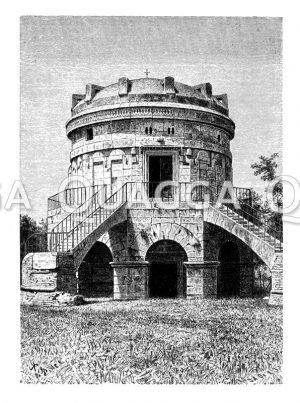 Theodorichs Grabmal zu Ravenna