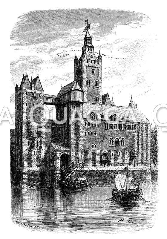 Rekonstruktion der Pfalz Friedrich Barbarossas zu Kaiserswerth am Rhein