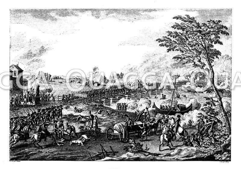 Erstürmung der Brücke von Lodi am 10. Mai 1796