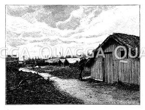 Neuseeländisches Dorf