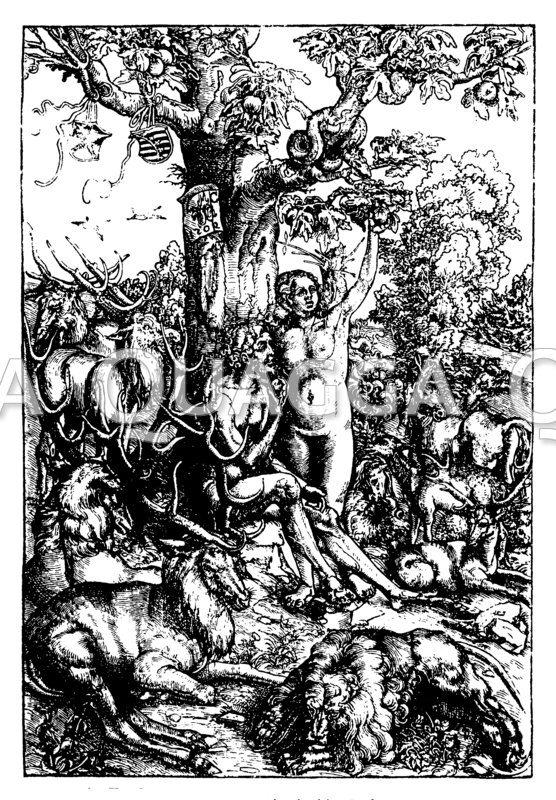 Adam und Eva nach Lucas Cranach d.Ä.