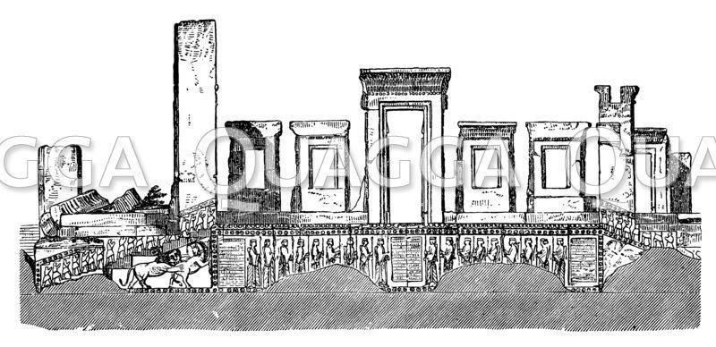 Palast des Darius