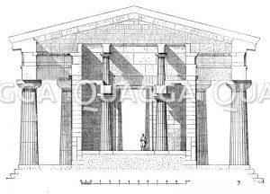 Tempel des Poseidon zu Paestum