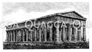 Poseidontempel zu Paestum