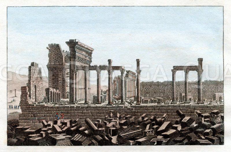 Palmyra: Tempel des Sonnenkönigs