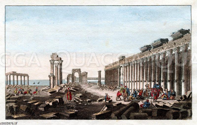 Palmyra: Große Galerie