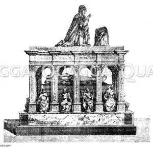 Grabmal Ludwigs XII. und Annas von Bretagne