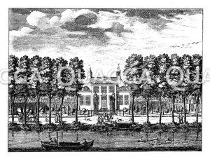 Holländischer Landsitz (Buitenplaats) im 17. Jahrhundert