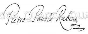 Autograph: Peter Paul Rubens