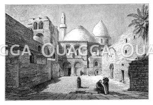 Grabkirche oder Kirche zum heiligen Grab zu Jerusalem: Portal