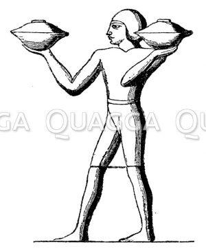 Ägyptischer Aufwärter