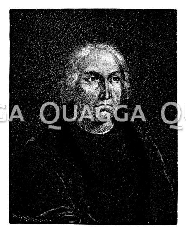 Angebliches Porträt des Christoph Kolumbus