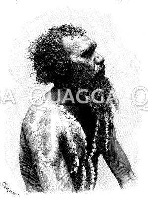 Aborigine-Mann