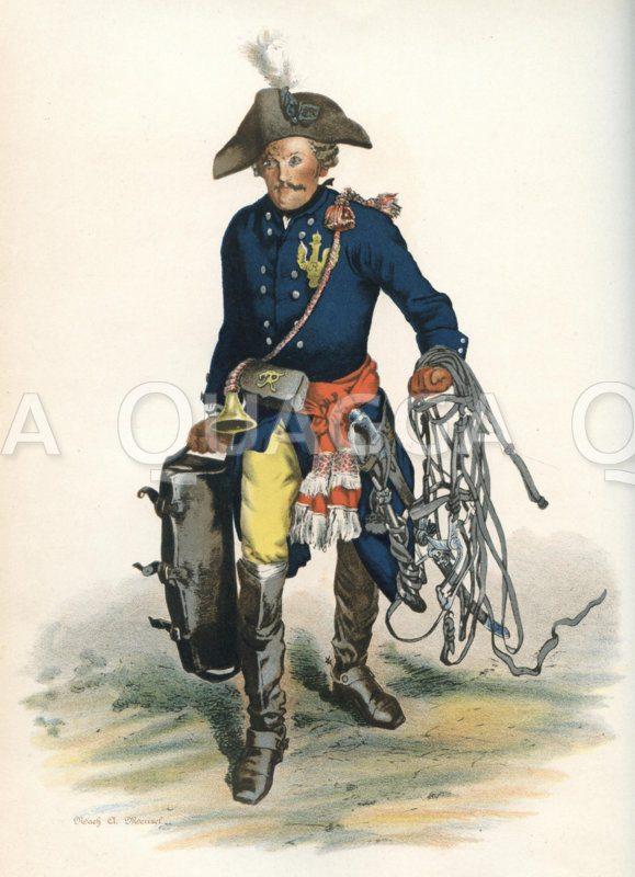 Feldpostillon unter Friedrich dem Großen