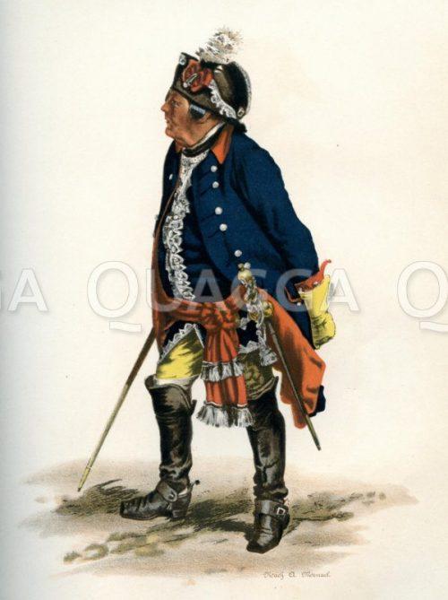Feldpostmeister unter Friedrich dem Großen
