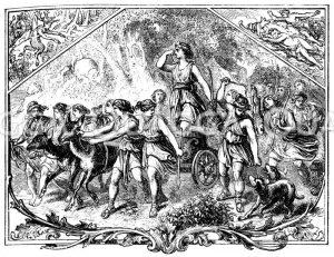 Jagdzug der Artemis