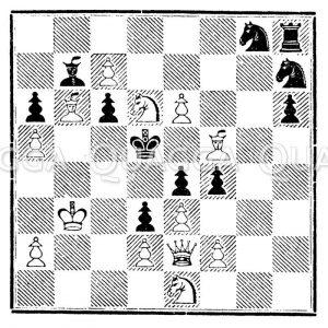 Schachspiel: Matt in fünf Zügen